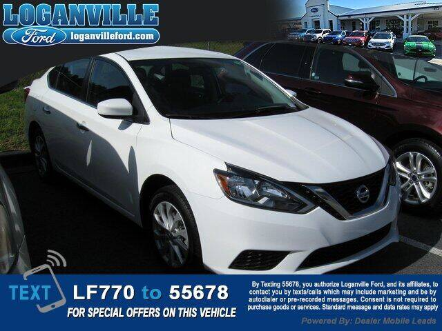 2019 Nissan Sentra for sale at Loganville Quick Lane and Tire Center in Loganville GA