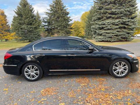 2012 Hyundai Genesis for sale at BELOW BOOK AUTO SALES in Idaho Falls ID