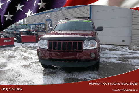 2007 Jeep Grand Cherokee for sale at Highway 100 & Loomis Road Sales in Franklin WI