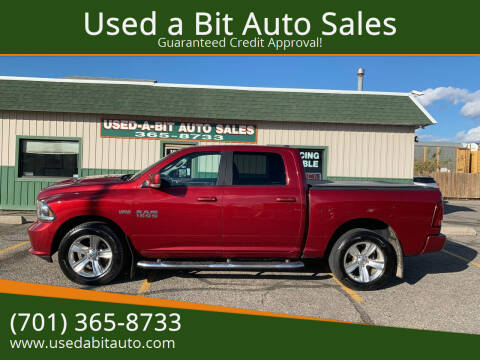 2014 RAM Ram Pickup 1500 for sale at Used a Bit Auto Sales in Fargo ND