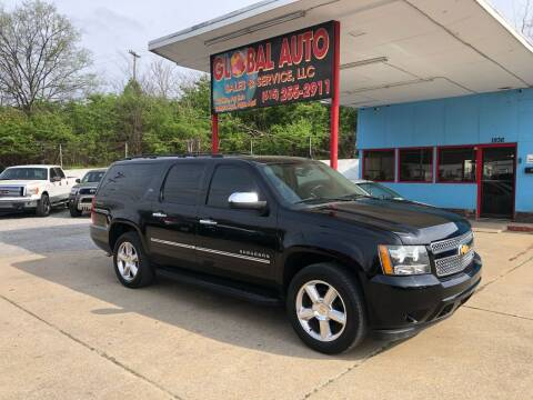 2014 Chevrolet Suburban for sale at Global Auto Sales and Service in Nashville TN