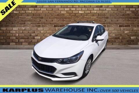 2018 Chevrolet Cruze for sale at Karplus Warehouse in Pacoima CA