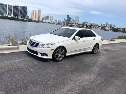 2010 Mercedes-Benz E-Class for sale at CARSTRADA in Hollywood FL