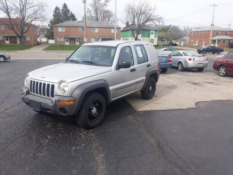 2002 Jeep Liberty for sale at Flag Motors in Columbus OH