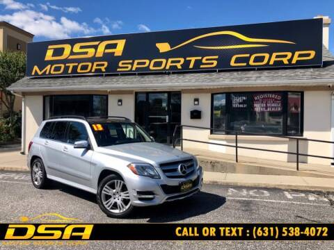 2013 Mercedes-Benz GLK for sale at DSA Motor Sports Corp in Commack NY