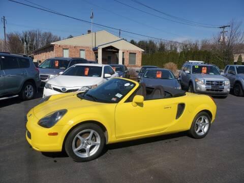 2001 Toyota MR2 Spyder for sale at Kingdom Autohaus LLC in Landisville PA