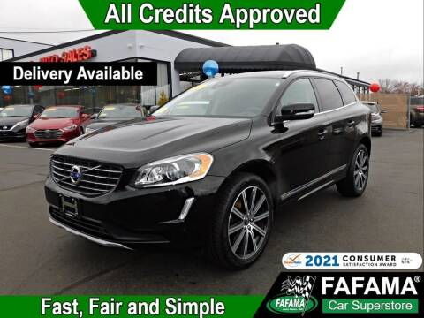 2017 Volvo XC60 for sale at FAFAMA AUTO SALES Inc in Milford MA