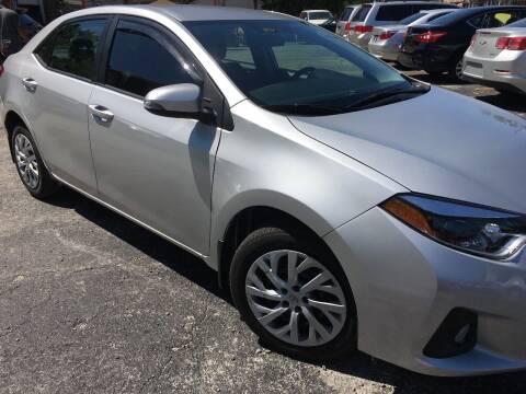 2015 Toyota Corolla for sale at 540 AUTO SALES in Chicago IL