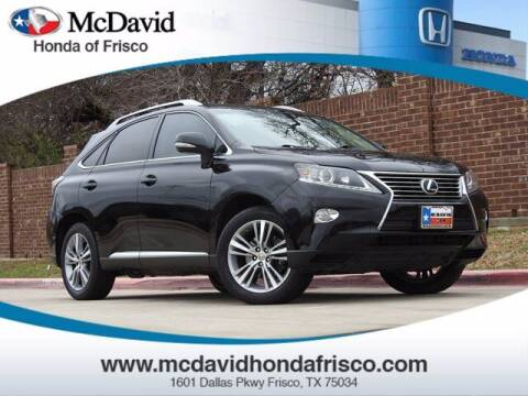 2015 Lexus RX 350 for sale at DAVID McDAVID HONDA OF IRVING in Irving TX