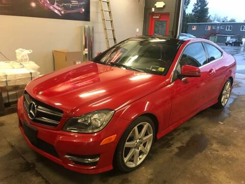 2014 Mercedes-Benz C-Class for sale at BEACH AUTO GROUP INC in Fishkill NY