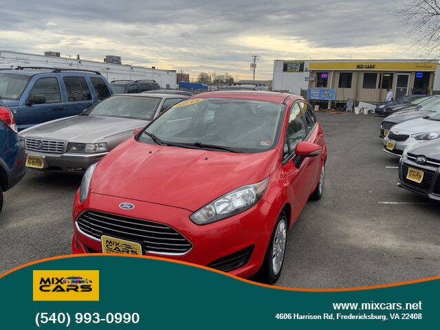 2014 Ford Fiesta for sale at Mix Cars in Fredericksburg VA