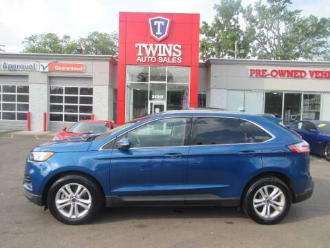 2020 Ford Edge for sale at Twins Auto Sales Inc in Detroit MI