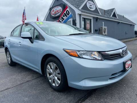 2012 Honda Civic for sale at Cape Cod Carz in Hyannis MA