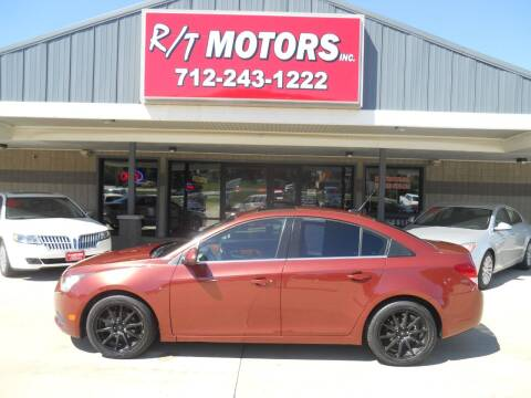 2013 Chevrolet Cruze for sale at RT Motors Inc in Atlantic IA