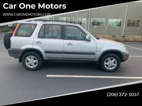 2001 Honda CR-V for sale at Car One Motors in Seattle WA