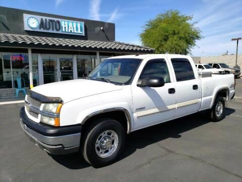 2004 Chevrolet Silverado 2500 for sale at Auto Hall in Chandler AZ