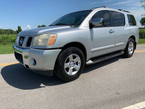 2004 Nissan Armada for sale at ILUVCHEAPCARS.COM in Tulsa OK