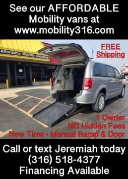 2015 Dodge Grand Caravan for sale at Affordable Mobility Solutions, LLC - Mobility/Wheelchair Accessible Inventory-Wichita in Wichita KS
