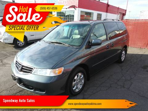 2003 Honda Odyssey for sale at Speedway Auto Sales in Yakima WA