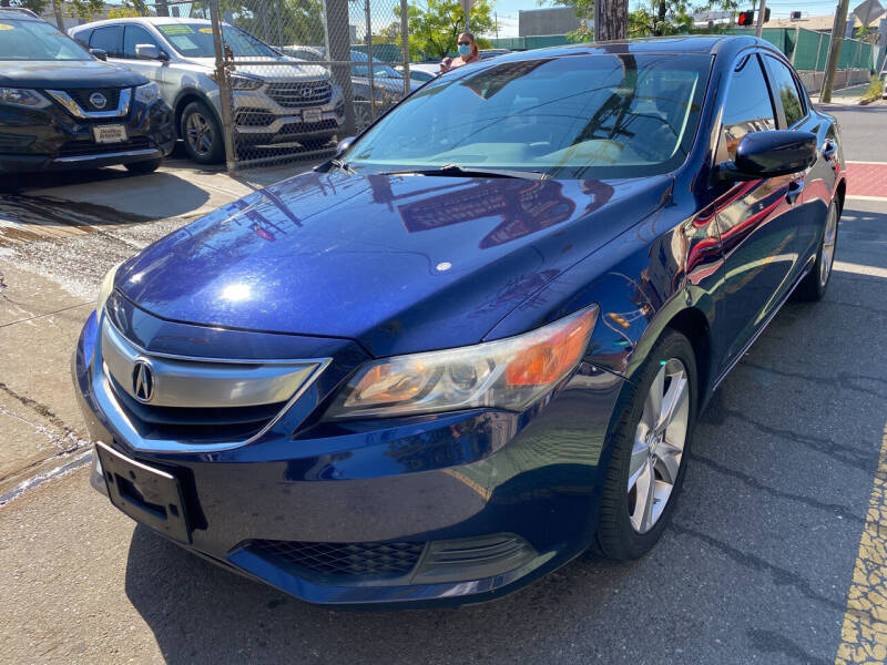 2014 Acura ILX for sale at DEALS ON WHEELS in Newark NJ