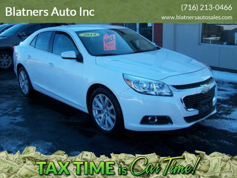 2014 Chevrolet Malibu for sale at Blatners Auto Inc in North Tonawanda NY