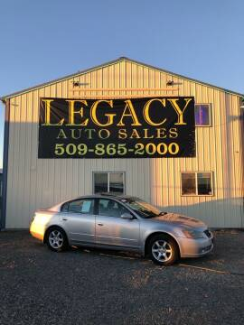 2005 Nissan Altima for sale at Legacy Auto Sales in Toppenish WA
