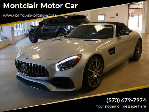 2018 Mercedes-Benz AMG GT for sale at Montclair Motor Car in Montclair NJ