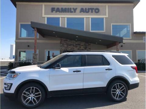 2016 Ford Explorer for sale at Moses Lake Family Auto Center in Moses Lake WA