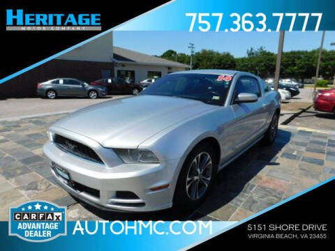 2014 Ford Mustang for sale at Heritage Motor Company in Virginia Beach VA