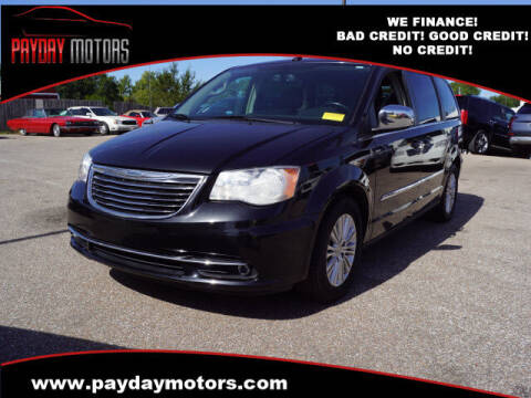 2011 Chrysler Town and Country for sale at Payday Motors in Wichita KS