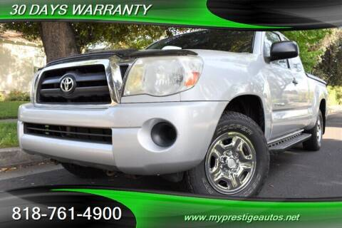 2005 Toyota Tacoma for sale at Prestige Auto Sports Inc in North Hollywood CA