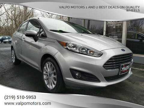 2014 Ford Fiesta for sale at Valpo Motors Inc. in Valparaiso IN