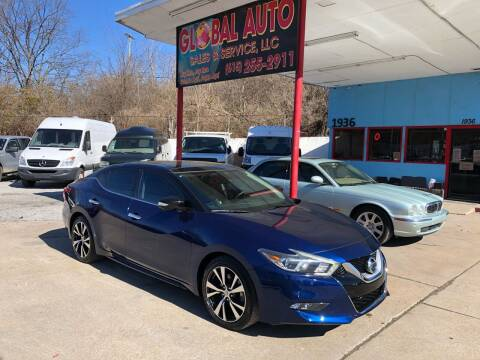 2016 Nissan Maxima for sale at Global Auto Sales and Service in Nashville TN