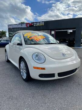 2008 Volkswagen New Beetle Convertible for sale at Good Clean Cars in Melbourne FL