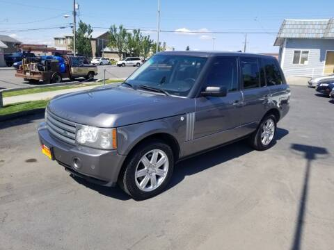 2008 Land Rover Range Rover for sale at Cool Cars LLC in Spokane WA