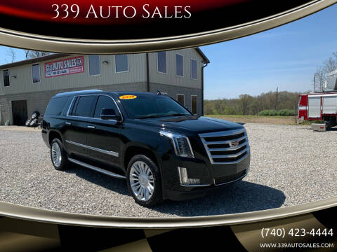 2018 Cadillac Escalade ESV for sale at 339 Auto Sales in Belpre OH