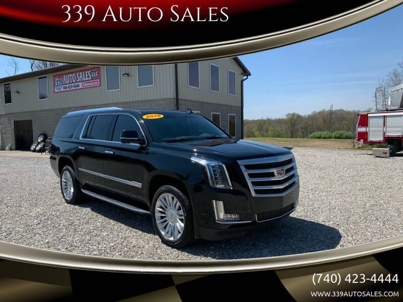2018 Cadillac Escalade ESV for sale at 339 Auto Sales in Belpre OH