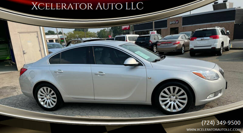 2011 Buick Regal for sale at Xcelerator Auto LLC in Indiana PA