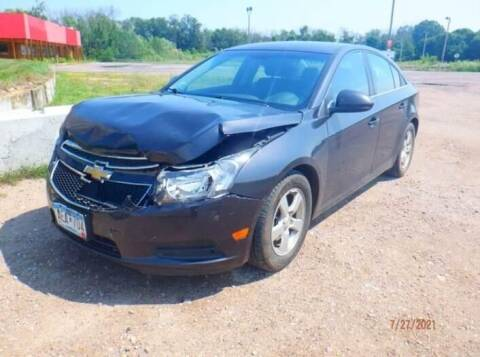 2014 Chevrolet Cruze for sale at CousineauCrashed.com in Weston WI
