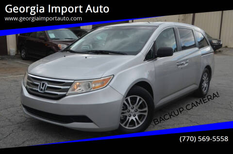 2011 Honda Odyssey for sale at Georgia Import Auto in Alpharetta GA