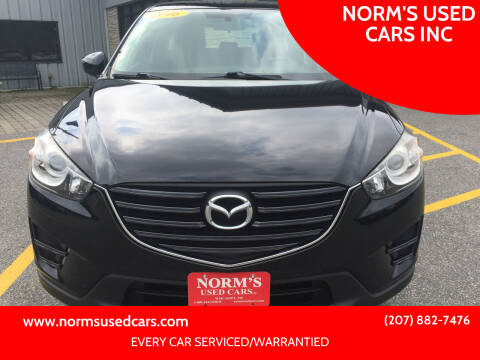 2016 Mazda CX-5 for sale at NORM'S USED CARS INC in Wiscasset ME
