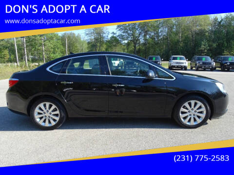 2012 Buick Verano for sale at DON'S ADOPT A CAR in Cadillac MI