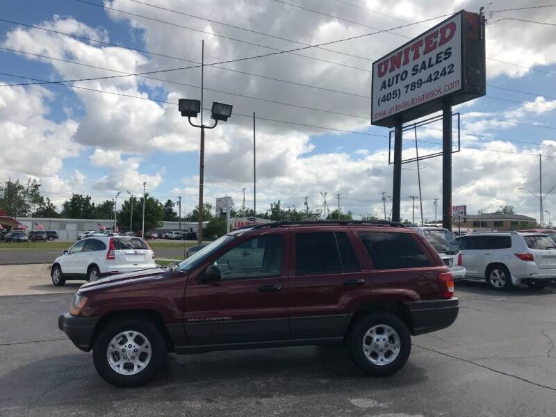 2001 Jeep Grand Cherokee for sale at United Auto Sales in Oklahoma City OK