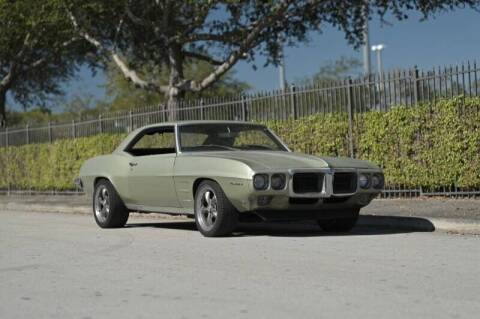 1969 Pontiac Firebird for sale at EURO STABLE in Miami FL