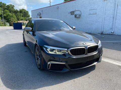 2018 BMW 5 Series for sale at Consumer Auto Credit in Tampa FL