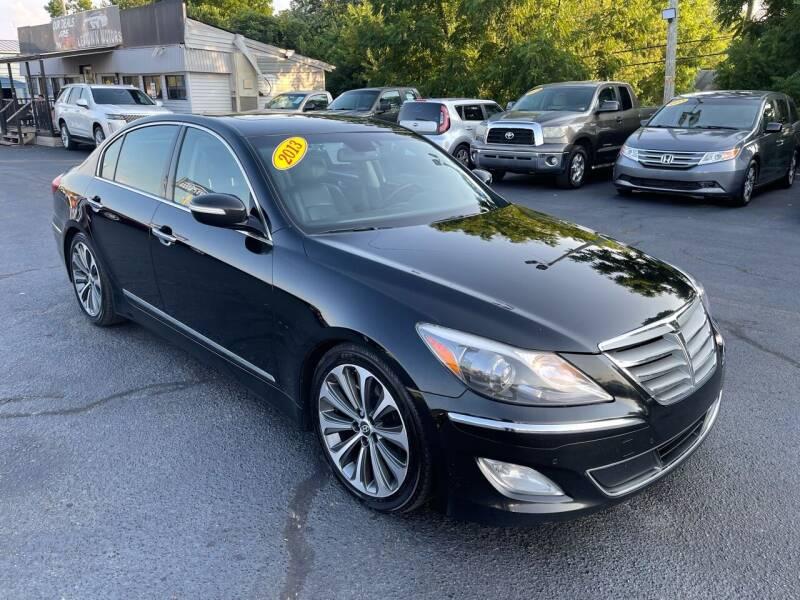 2013 Hyundai Genesis for sale at LexTown Motors in Lexington KY