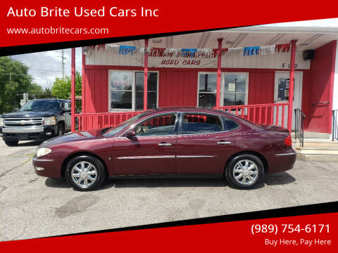 2007 Buick LaCrosse for sale at Auto Brite Used Cars Inc in Saginaw MI
