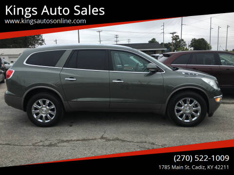 2011 Buick Enclave for sale at Kings Auto Sales in Cadiz KY