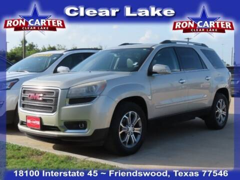 2014 GMC Acadia for sale at Ron Carter  Clear Lake Used Cars in Houston TX