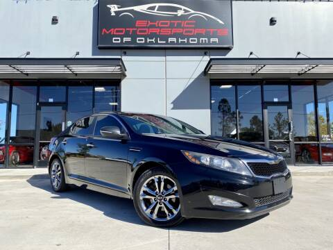 2013 Kia Optima for sale at Exotic Motorsports of Oklahoma in Edmond OK